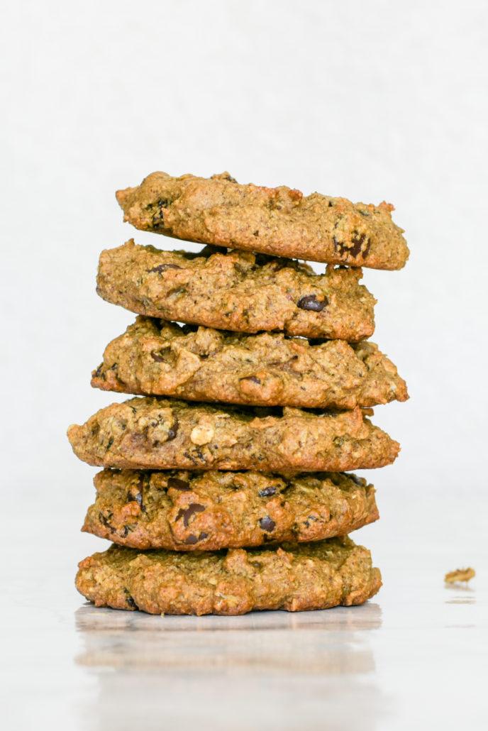 Soft-Baked Oatmeal Raisin Cookies