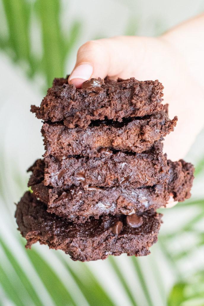 1-Bowl Vegan Pumpkin Brownies