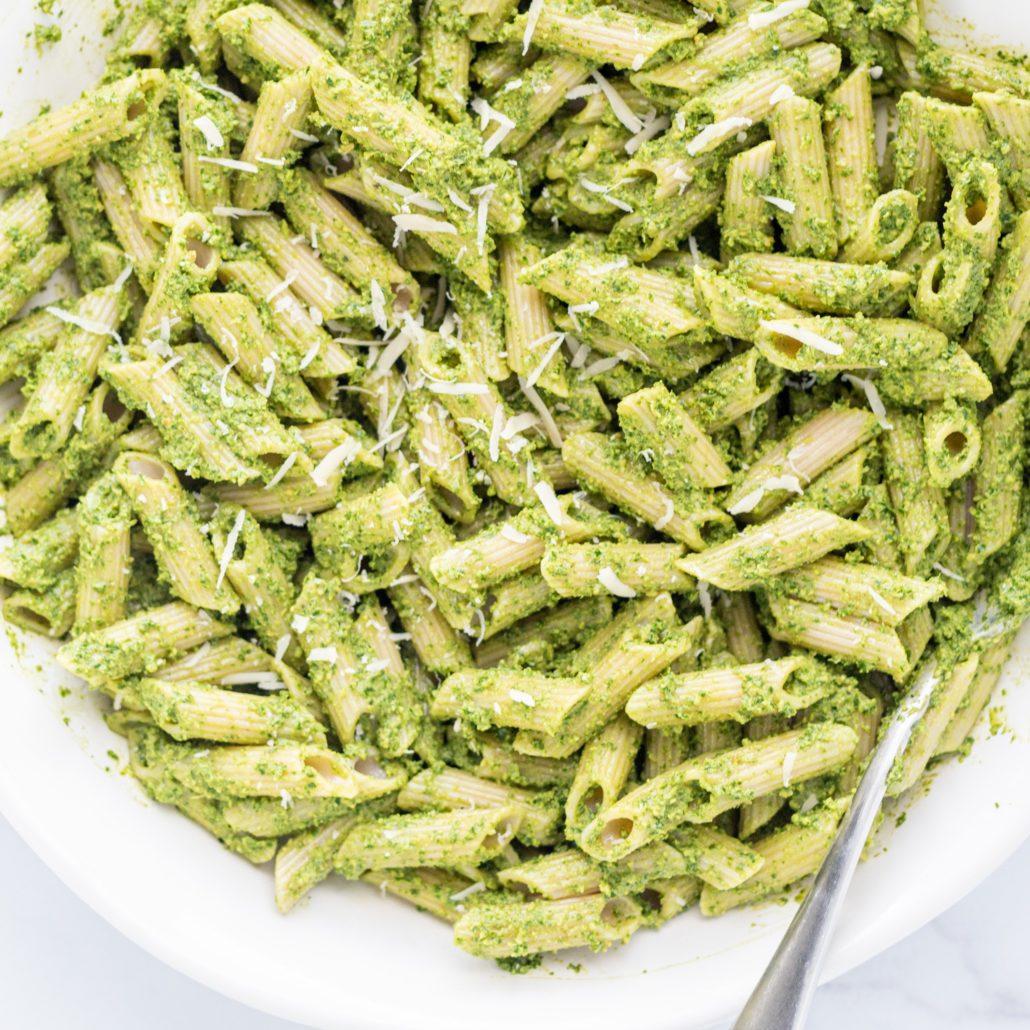 Easy Vegan Kale Pesto