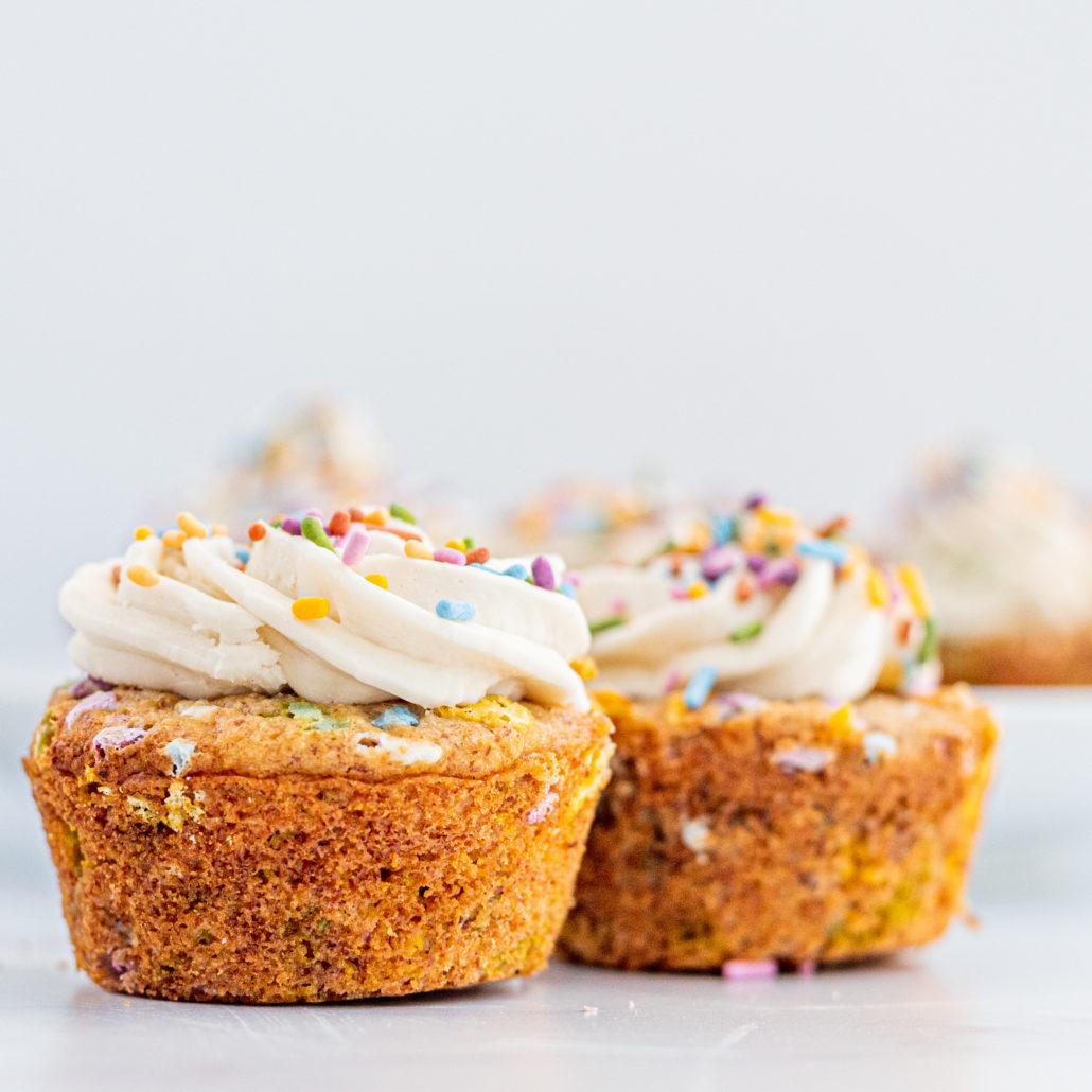 Vegan Gluten-Free Funfetti Muffins